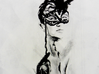 Mask Nude Studies 1-6