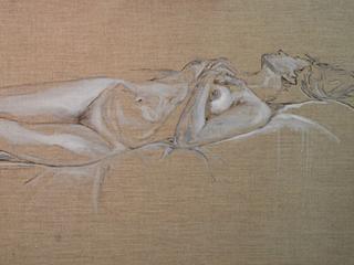Nude on Linen #1