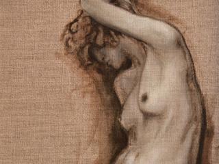 Nude on Linen #2