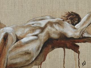 Nude on Linen #3