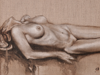 Nude on Linen #5