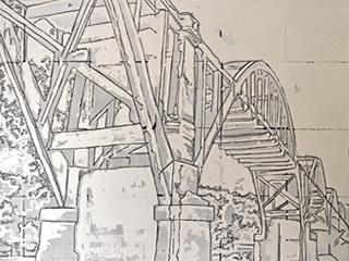 The Cotter Bridge, 2015.